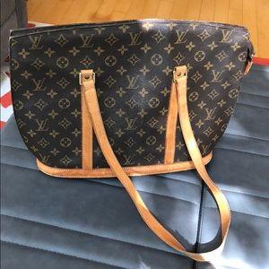 Louise Vuitton Babylon purse